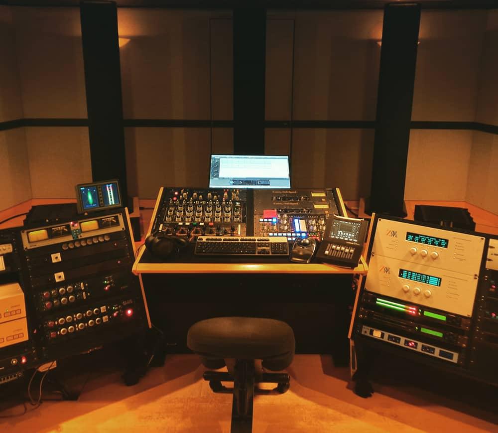 Sony Music's Mastering Studio